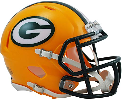 Riddell Green Bay Packers Revolution Speed Mini Football Helmet - NFL Mini Helmets