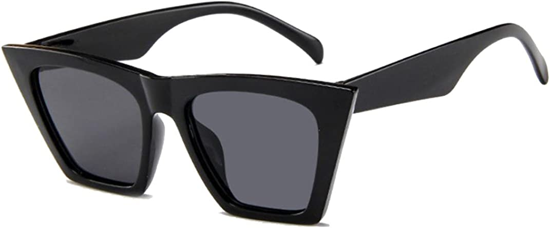 Amcool Mode Damen /Übergro/ße Sonnenbrille Vintage Retro Cat Eye Sonnenbrille