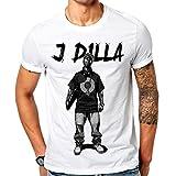 mazumi8 J Dilla Stand Rapper Hip hop T-Shirt Size XL White