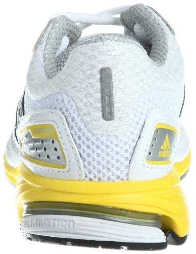 adidas Performance Response Cushion 21 W - Zapatillas de correr de material sintético mujer blanco - Weiß (RUNNING WHITE FTW / NEO IRON MET. F11 / VIVID YELLOW S13)