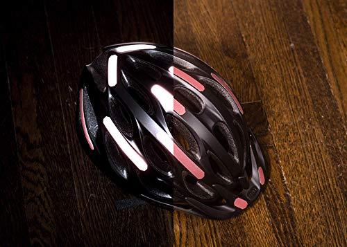 Brilliant Reflective Strips Stick-On Black