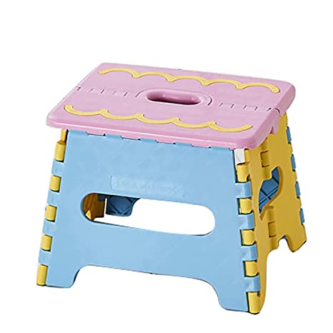 Super Amazon Com Inblossoms Folding Step Stool Thickened Pp Gmtry Best Dining Table And Chair Ideas Images Gmtryco