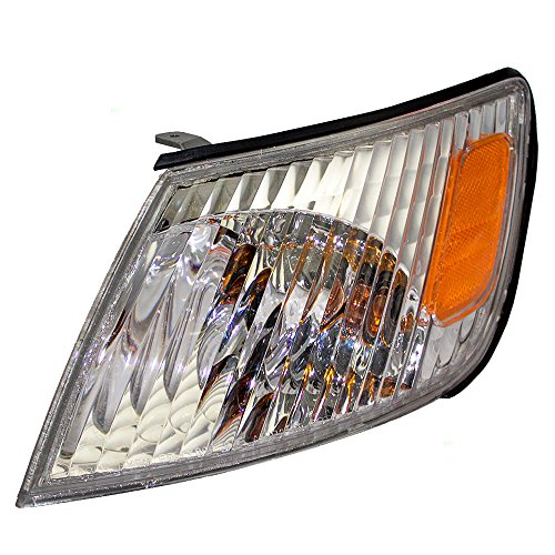 Drivers Park Signal Corner Marker Light Lamp Lens Replacement for Lexus 81520-33100 AutoAndArt