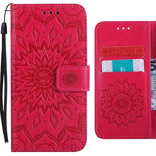 Flip Etui Coque Cover Pour Nokia Caoutchouc Avec 3310 rouge Carte Fente Silicone 2017 Flore Protecteur Cuir Rouge Pu Étui Ougger Housse Magnétique Fleurs Pochette Des x5Yw0q7HH