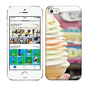 Best Power(Tm) HD Colorful Painted Watercolor Ice Cream Hard Phone Case For Iphone 5/5S