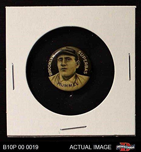 1910 Sweet Caporal Pins John Hummel Brooklyn Superbas (Baseball Card) Dean