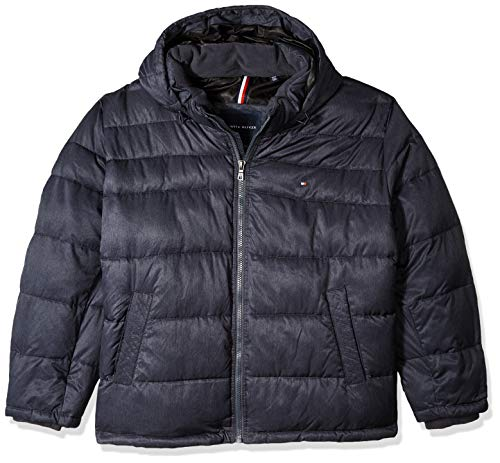 Tommy Hilfiger Men's Classic Hooded Puffer Jacket – DiZiSports Store