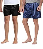 40% Off Mens 2-PK Satin Boxers And Pajama Pants by CYZ