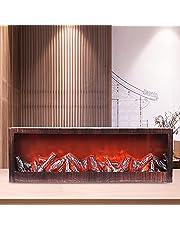 SPLENDSHOP Electric Fireplace Lantern Alternative Multi-Functional Flameless Led
