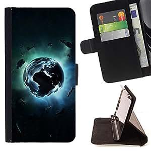 Jordan Colourful Shop - Planet Explosion For Samsung Galaxy A3 - < Leather Case Absorci????n cubierta de la caja de alto impacto > -