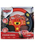 M&Co Disney Pixar Cars Red Lightning Mcqueen Toy Steering Wheel With Lights And Sound Effects Multicolour One Size
