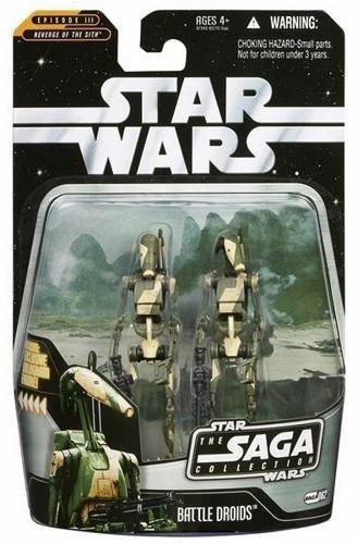 Star Wars Battle Droids 2-pack Infantry & Commander