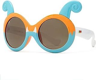 TzJz 3-6 Anni Bambini Ragazzi e Ragazze Anti-UV Anti-Blu Occhiali da Sole Halloween Carino Occhiali da Sole (Colore : C)