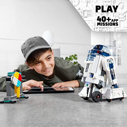 LEGO Star Wars Boost Droid Commander 75253 Learn to Code Educational Tech Toy for Kids, Fun Coding Stem Set with R2-D2 Buildable Robot Toy, New 2019 (1,177 Pieces)