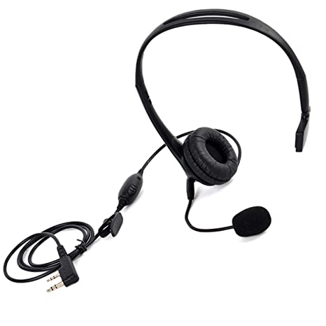In-ear Earpiece Mic Radio Accessories For Kenwood TYT Baofeng UV-5R BF-888S F4R7