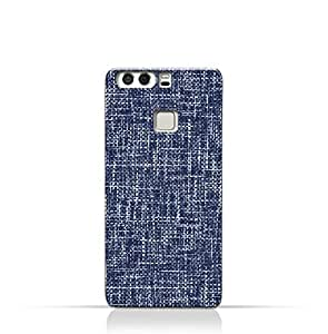 AMC Design Huawei P9 Plus TPU Silicone Case with Brushed Chambray Pattern