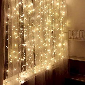 Julylight Vorhänge Licht LED Lichterkette LATERNE Romantische Schlafzimmer  Die Hotelzimmer Sind Verziert Im Licht Des