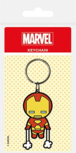 Kawaii Set pegatina Comics 1x 1art1 Marvel 6x4 Iron Man llavero sorpresa cm tRRqpvwxr