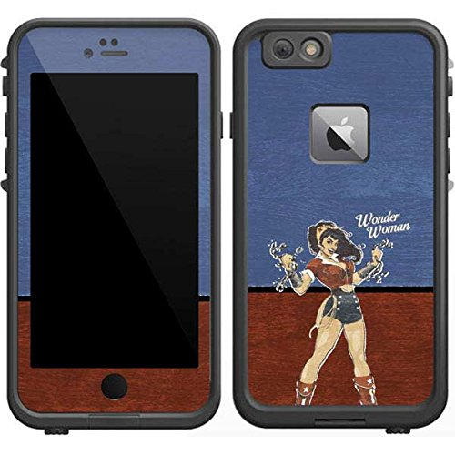 DC Comics Bombshells LifeProof Fre iPhone 6/6s Plus Skin - Wonder Woman Vinyl Decal Skin For Your Fre iPhone 6/6s Plus