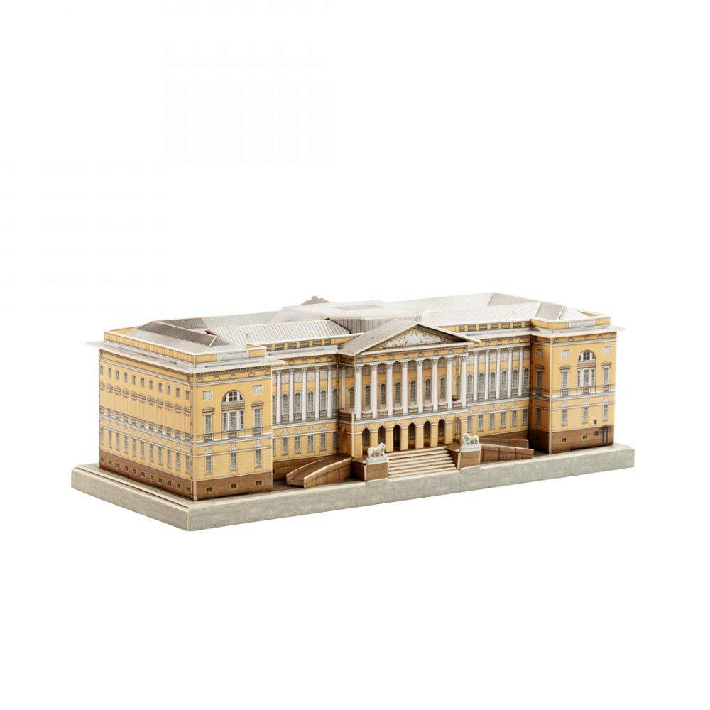 Mikhailovsky Palace Petersburg Russa 480 Clever Paper UMBUM Innovative 3D-Puzzles St