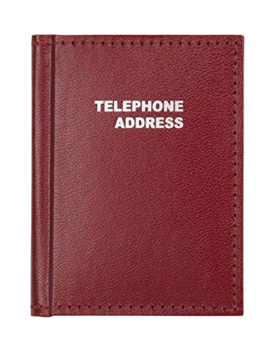 Office Depot Vinyl Small Pocket Telephone/Address Book, 3in. x 4, N20107728 ()