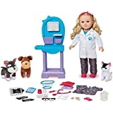 My Life As 18 Doll of the Year Vet Doll Play Set, Caucasian with Blonde Hair