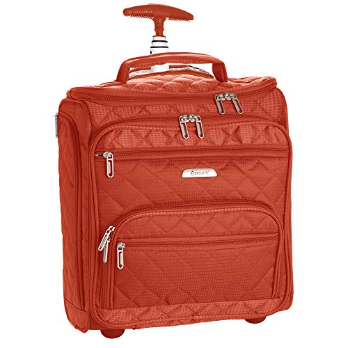 """16.5"""" Underseat Women Luggage Carry On Suitcase - Small for sale  Delivered anywhere in USA"""