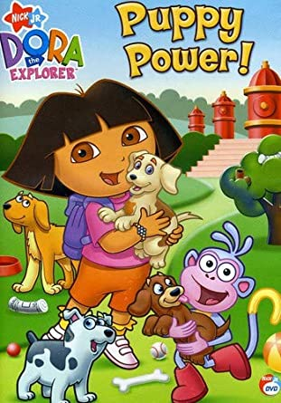 Amazon Com Dora The Explorer Puppy Power Fatima Ptacek Regan