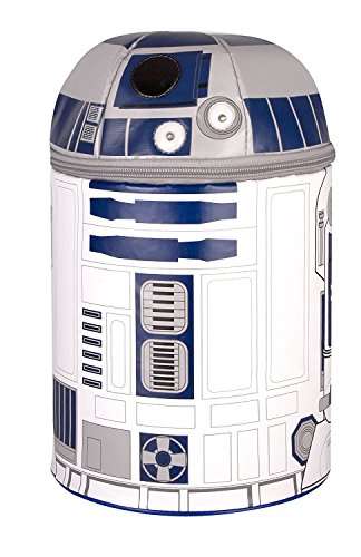 Smiles Lunch - Thermos Novelty Lunch Kit, Star Wars R2D2 with Lights and Sound