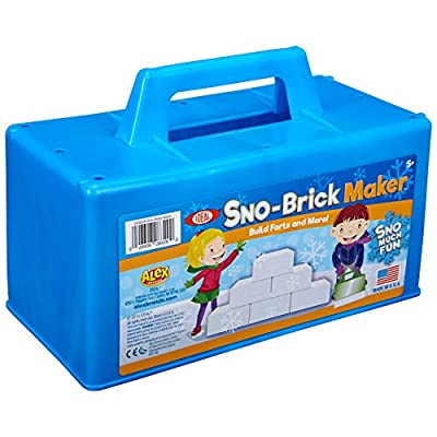 Ideal Sno-Brick Maker, Colors May Vary Kids Outdoor Snow Activity: Toys & Games