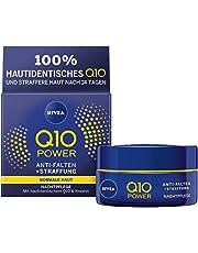 Nivea Q10 Power Anti-Rimpel + Versteviging Nachtcrème voor Jongere Uitziende Huid, 50 ml