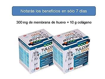 Colageno con magnesio + membrana de huevo Tulcop Plus Ovo - Pack de 2: Amazon.es: Salud y cuidado personal