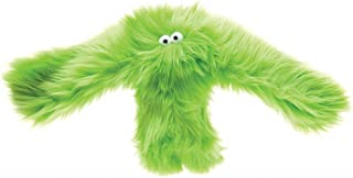 product image for West Paw Baby Salsa Orangutan Squeaky Toy for Dogs, Lime