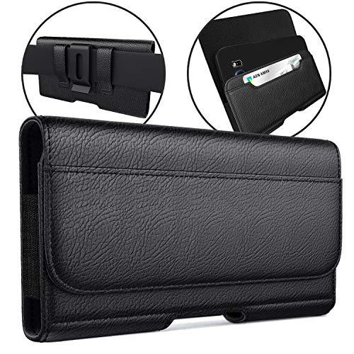 Meilib Belt Holster Designed for iPhone 12 Pro Max, 11 Pro Max, XS Max, 8 Plus, 7 Plus, 6s Plus Holster Phone Belt Case…