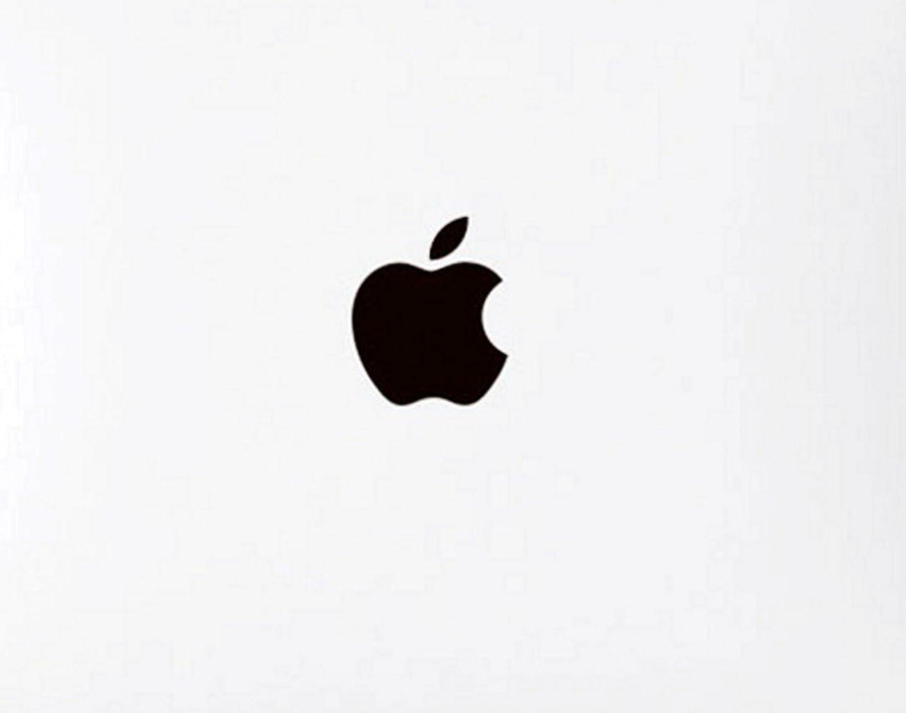 Lot de 5 autocollants Wallner en métal avec logo Apple - Pour iPhone 6 Plus / 5S / 7 Plus - Doré