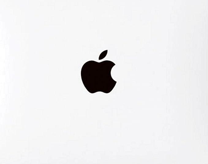 amazon com wallner 5pcs in set metal black apple logo overlay metal