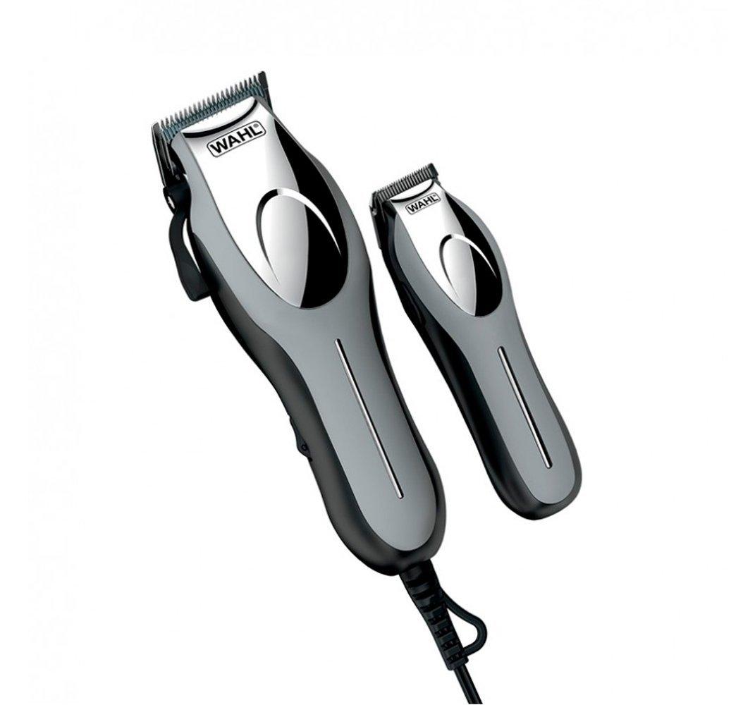 SET maquinillas cortapelos WAHL PRECISION CUT PRO profesional, para cortar el pelo largo, perfilador inalambrico, bolsa de viaje, estuche organizador de peines, tijeras, cepillo, peine, cuchillas premium de acero al carbono, 10 peines de corte desde 1,5mm,