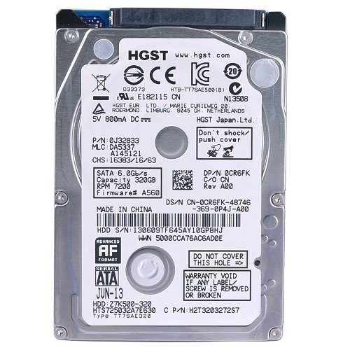 HGST Travelstar 2.5-Inch 320GB 7200RPM SATA III 32MB Cache SATA 6Gbps Internal Bare or OEM Drives - 8mb Cache Sata 250gb 7200rpm