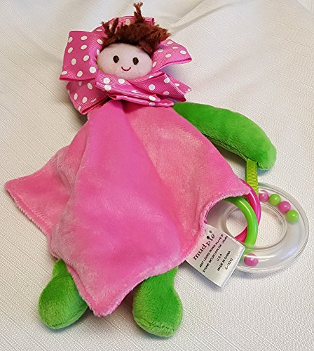 Mudpie Little Sprouts Teether, Red Head