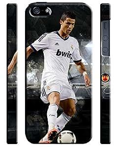 Cristiano Ronaldo Real Madrid Iphone 5 5s Hard Case