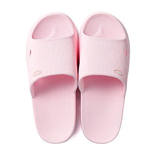 Rosa deodorante uomini bagno bagno sandali home interno e da skid anti semplici Home estate pantofole pantofole giovane DogHaccd con donne 1HgZxg