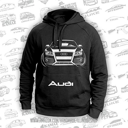 Audi A5 Coupe Original Hoodie 100% Cotton Free Shipping