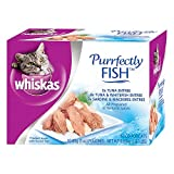 Whiskas Purrfectly Fish Variety Pack Wet Cat