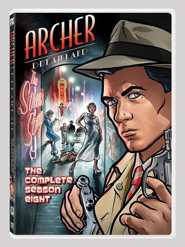 Archer Season 8 Dreamland (Archer Tv Series Dvd)