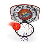 Twitfish Mini Basketball Set Portable Indoor Outdoor Basket Ball Hoop Board For Kids and Office