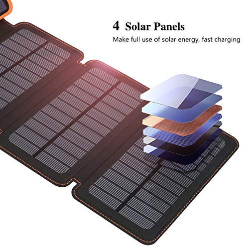 Buy solar power phone charger backpacking