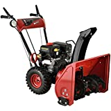 """Amico AST-22 212cc Single-Stage E-Start Gas Snow Blower/Thrower, 22"""""""