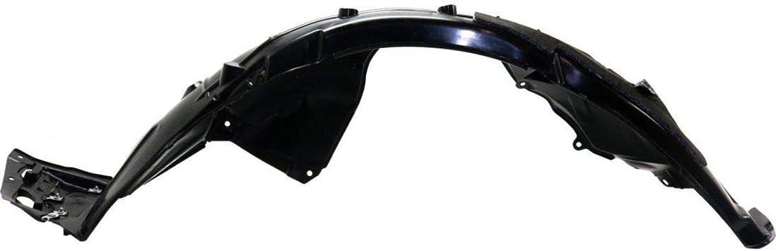 Replacement Front Left Driver Side Fender Liner For Honda Civic