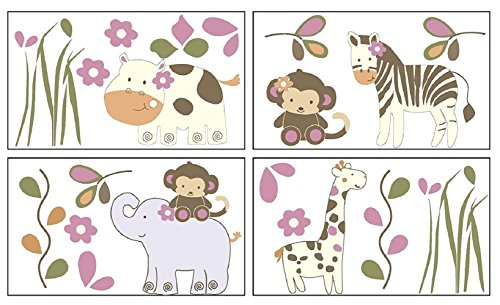 CoCaLo Baby Jacana Wall Decals -