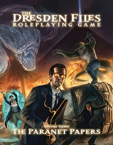 Book Three Rpg - Evil Hat Productions The Dresden Files The Paranet Papers (Volume 3) Roleplaying Game